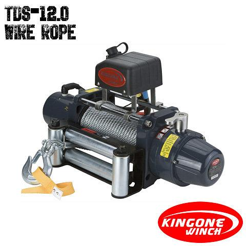 KingOne TDS 12.0 Wire Rope Winch 12V