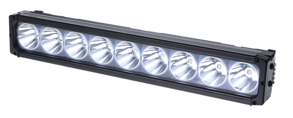 9 LED Long Distance Driving Light with Halo