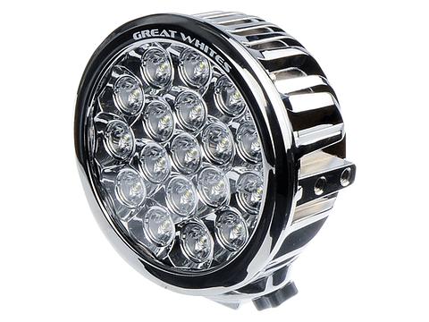 18 LED Chrome Round Driving Light
