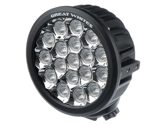 18 LED Wide Angle Round Driving Light