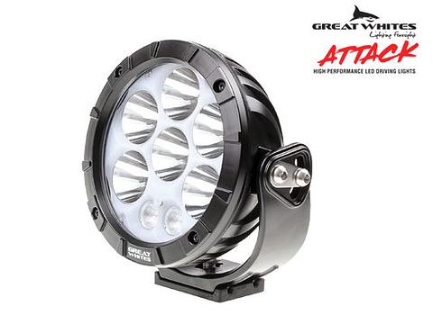 170mm Attack Round Driving Light