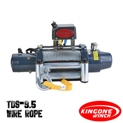 KingOne TDS 9.5 Wire Rope Winch 12V