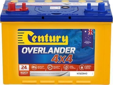 Century Overlander - N70ZZXHD MF, 735CCA