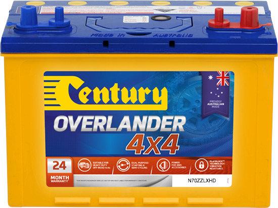 Century Overlander - N70ZZLXHD MF, 735CCA