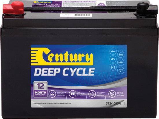 Century Deep Cycle C12-105DA